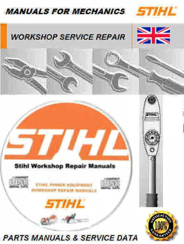 Stihl Chainsaw Manuals For Mechanics and Woodsman