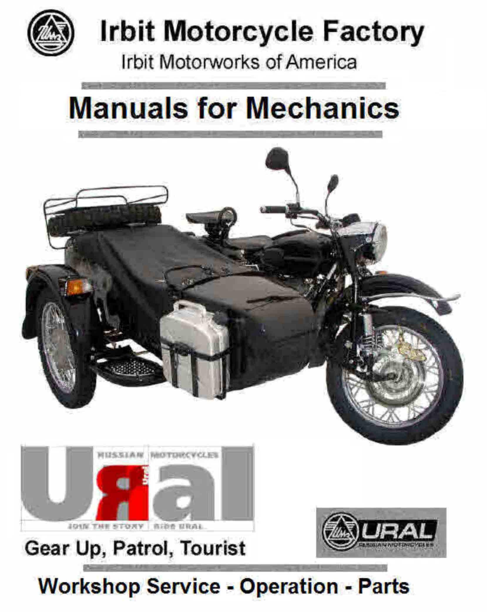 Ural Motorcycle Groups Wiring Diagrams Data Base Engine Diagram Manauls For Mechanics Themanualman Rh Sellfy Com On Xingyue