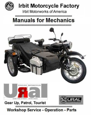 Ural Motorcycle Manauls For Mechanics