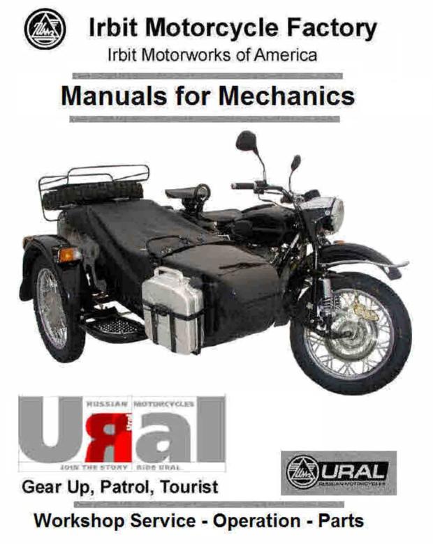 Ural Motorcycle Manauls For Mechanics
