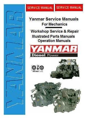Yanmar Service Manuals for Mechanics Yanmar Marine manuals for mechanics