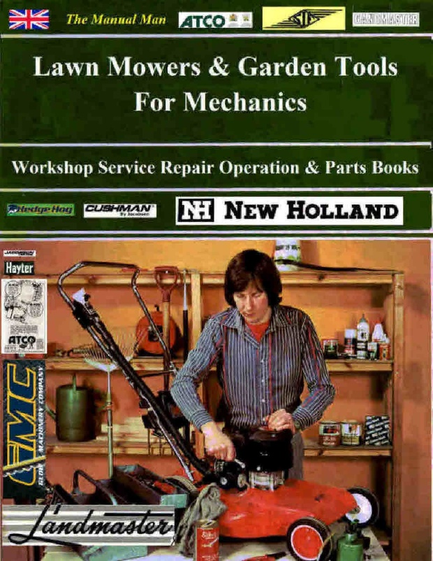Lawn Mower and Garden tools Manuals for Mechanics