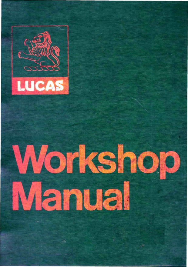 Lucas Motorcycle electrics Trade manualsMechanics set all listed to go
