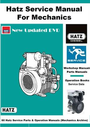 Hatz Engine Manuals Super Archive for Mechanics