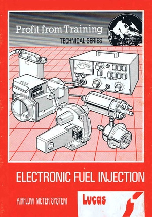 Lucas Electronic ignition Training manual Profit from Training ( Air Flow )