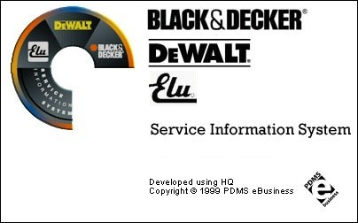 Diwalt Black and Decker Elu Service system 1999