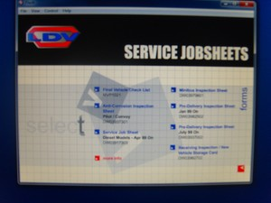 LDV TIS Service system workshop Service Manual