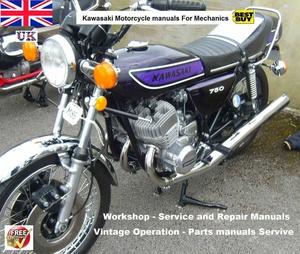 Kawasaki Service manuals for Mechanics