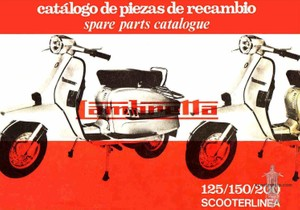 Lambrettor Manuals for Mechanics