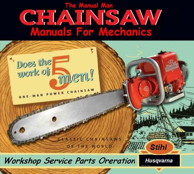Chain Saw Manuals for mechanics