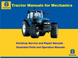 New Holland TSA - T6000 Tractor Service Manual