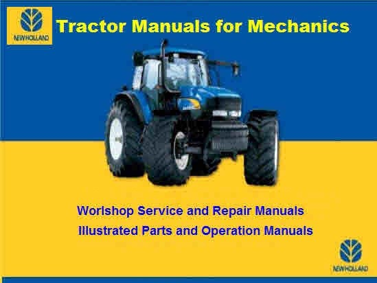 New Holland TSA - T6000 Tractor Service Manual