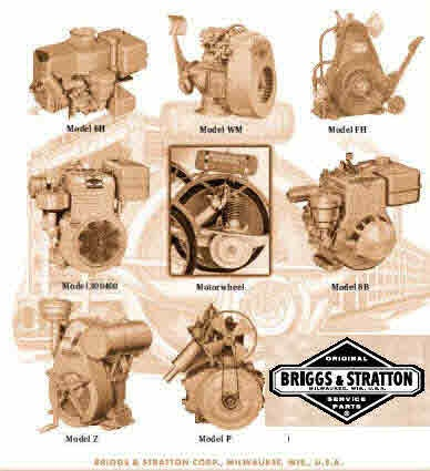 briggs and stratton manuals for mechanics rh sellfy com Briggs and Stratton 550 Parts Old Briggs and Stratton Manuals