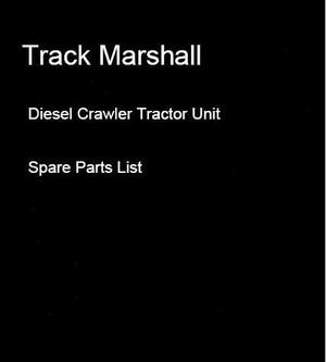 Track Marshall Diesel Crawler Tractor Unit