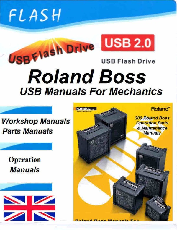 Roland boss manuals for Tech Doctors Boss User Manuals - Diagrams - Tech Information