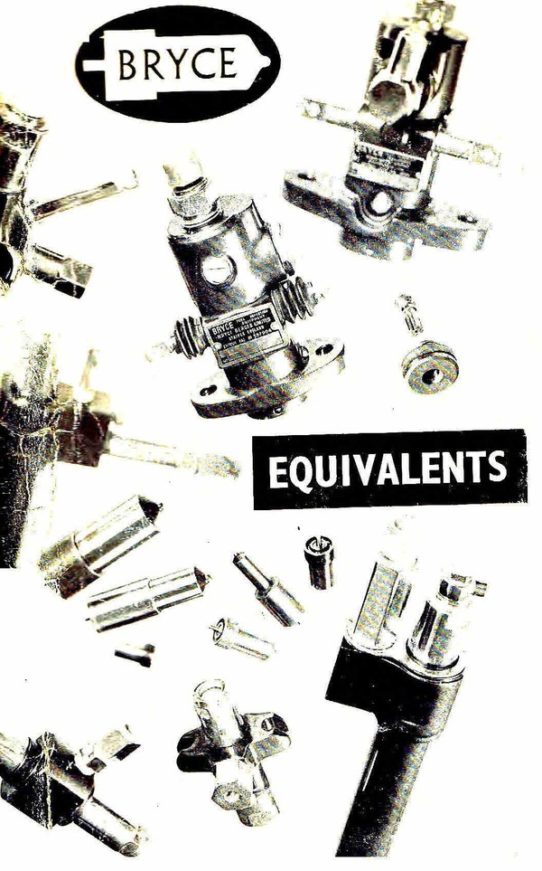 Bryce Fuel injection equivelents Book