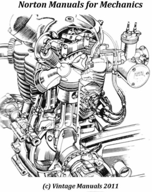 Norton Service Manuals for Mechanics..