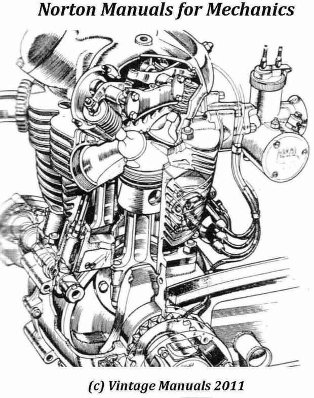 Norton Service Manuals for Mechanics..