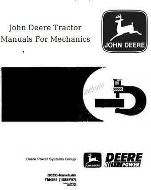 John Deere Tractor manual Archive for Mechanics
