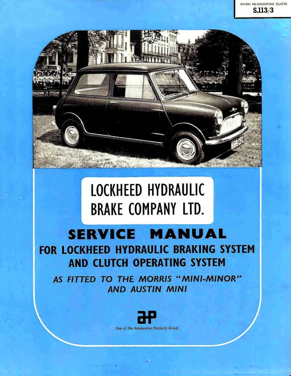 Lockheed Vintage Service Manuals Archive
