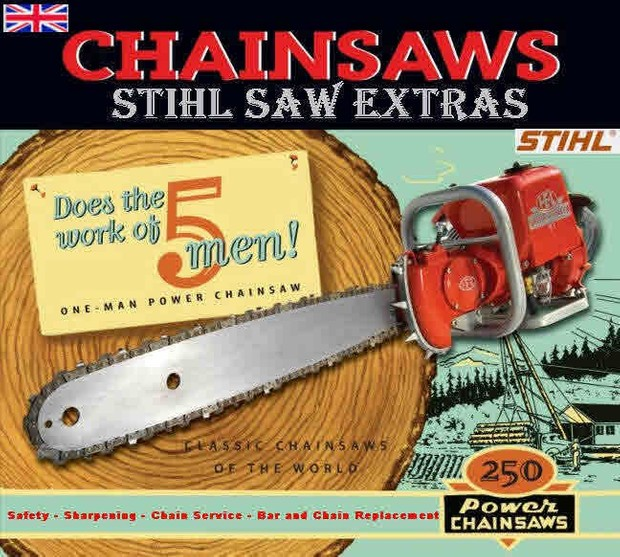 Stihl chainsaw manuals for mechanics and woodsman greentooth Gallery