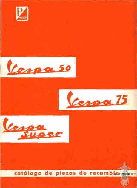 Vespa Scooter Manuals for Mechanics