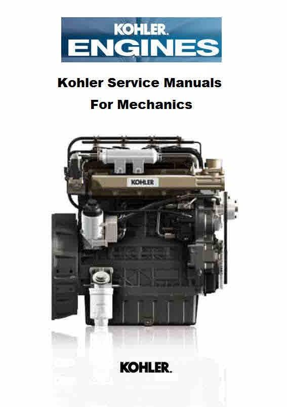 Kohler Engine Manuals For Mechanics