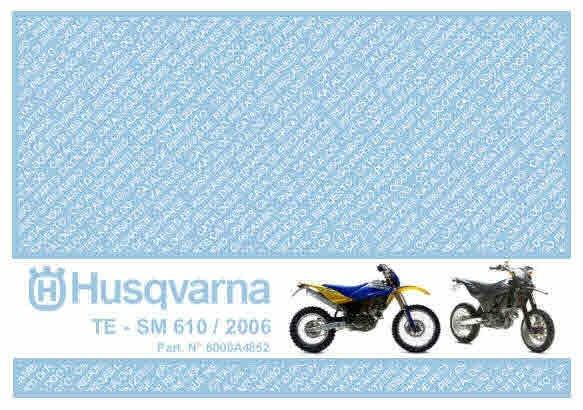 Husqvarna Motorcycle Manuals for Mechanics