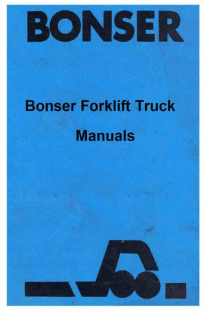 Bonzer Fork Lift Truck Manuals