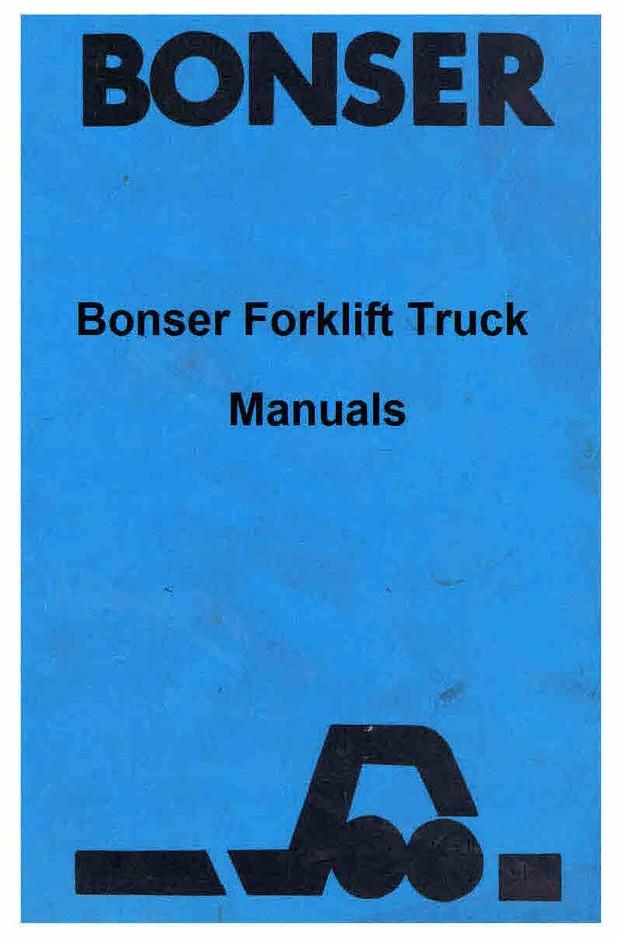 Bonzer Fork Lift Truck Manuals