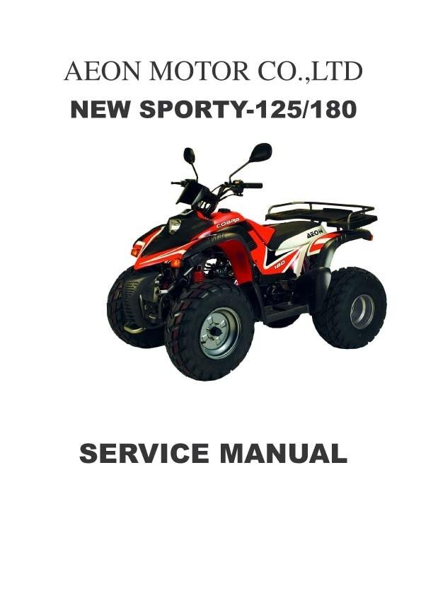 Aeon Service and Repair manuals for Mechanics