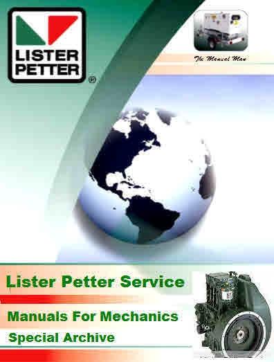 lister petter giant archive for mechanics rh sellfy com Lister Petter Fuel Pump For Lister Petter Parts
