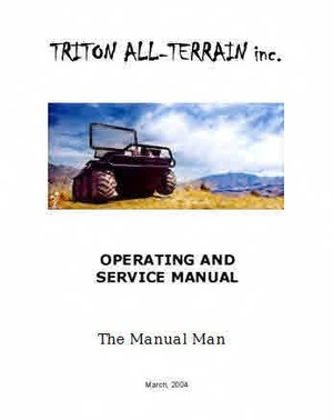 Triton All Terrain Vehicle Manual Operator and Service manual