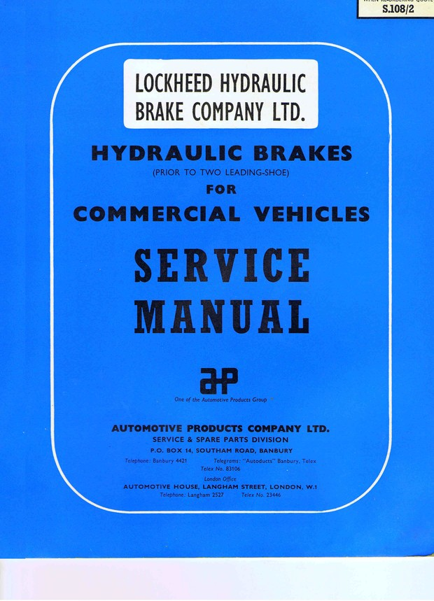 Lockheed Vintage Service Manuals Archive