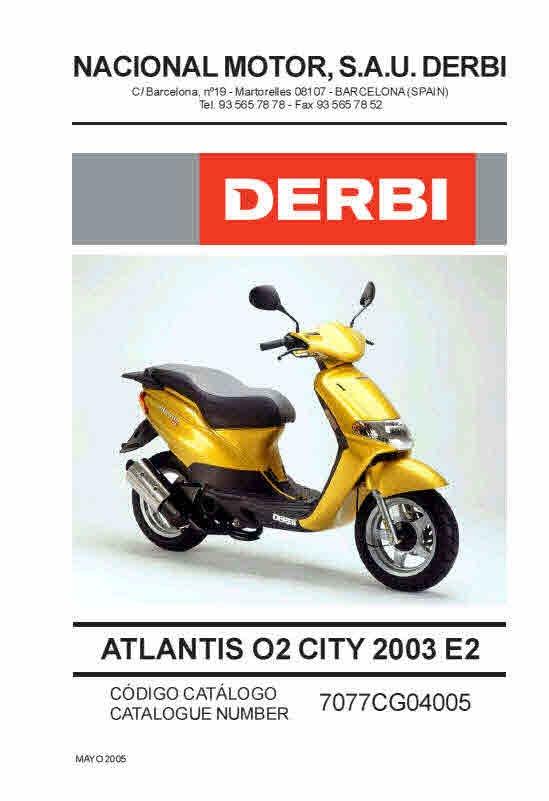 derbi manuals for mechanics workshop manuals rh sellfy com derbi atlantis 50 service manual manual de taller derbi atlantis 50 2t