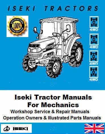 Iseki Tractor Service Manuals for Mechanics