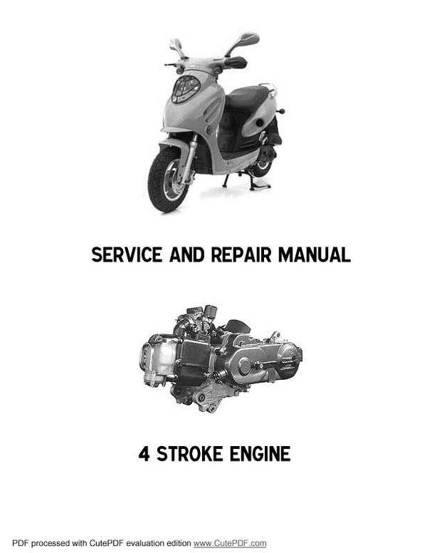 BAOTIAN Service Manuals for Mechanics
