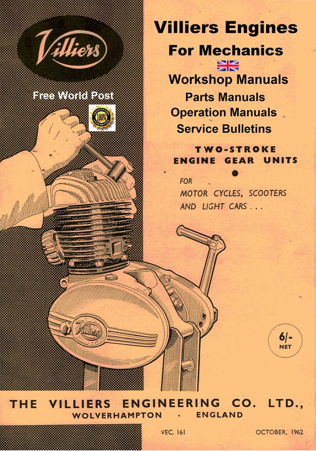 Villiers Engine Service Manuals For Mechanics