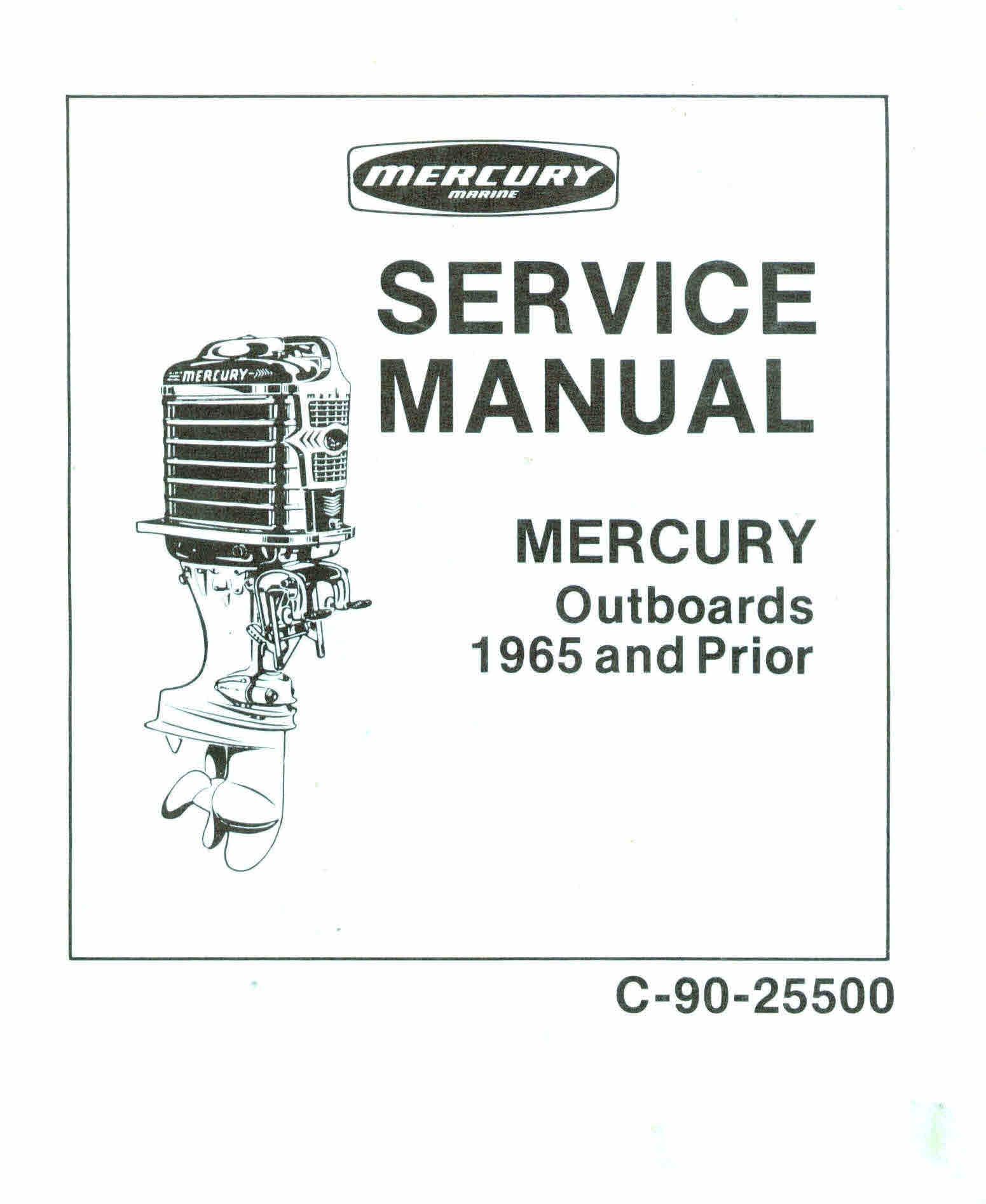 ... Array - mercury u0026 mariner vintage service manuals for mechanic rh  sellfy com