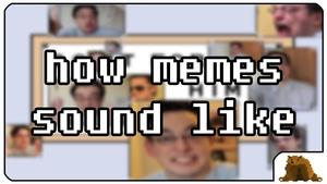 EinBaer - how memes sound like