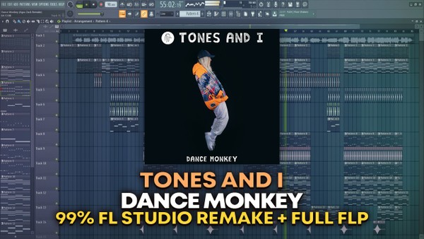 Tones And I - Dance Monkey [FULL FLP]