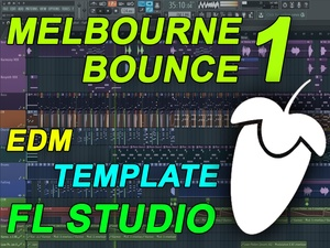 FL Studio - EDM Melbourne Bounce Template 1