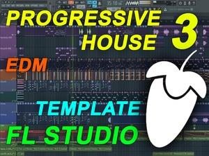FL Studio - EDM Progressive House Template 3