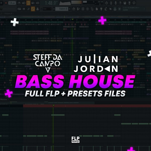 Bass House Template (Steff Da Campo & Julian Jordan Style) [FULL FLP + Preset Files]