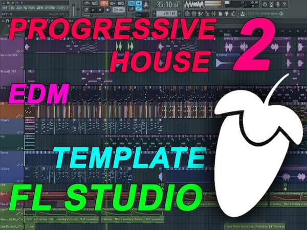 FL Studio - EDM Progressive House Template 2