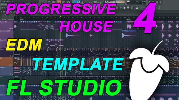 FL Studio - EDM Progressive House Template 4