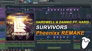 Hardwell & Dannic - Survivor (Pheenixx Remake) [FLP Family]