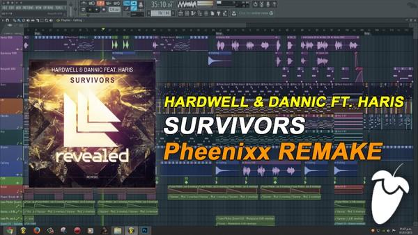 Hardwell & Dannic - Survivors [FULL FLP]