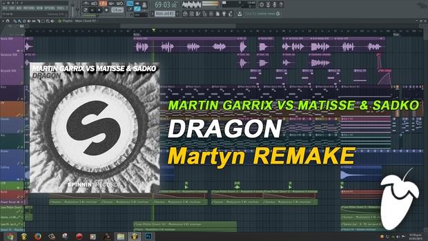 Martin Garrix vs Matisse & Sadko - Dragon (Remake) [FLP Family]