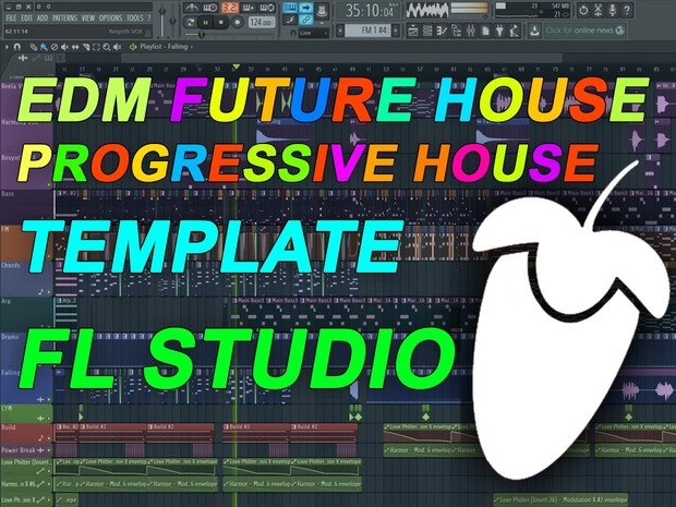 FL Studio - EDM Progressive House / Future House Template